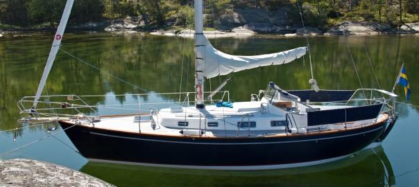 OE 32:an Livia. Byggd 1980. Renoverad 2012. Segelnr S100