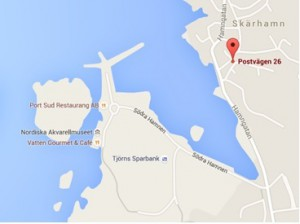Skärhamn-karta